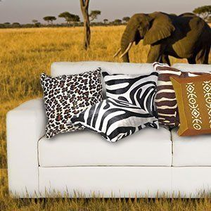 African Theme Pillows