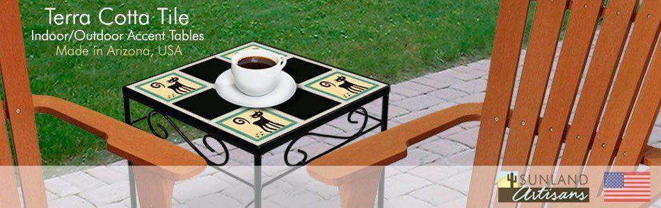 Tile Accent Tables