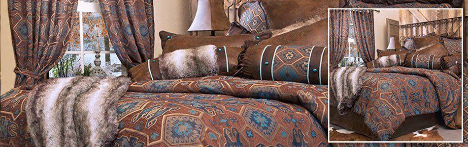 Saguaro Desert Southwestern Bedding Collection