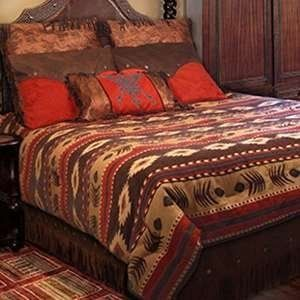 Complete Southwestern Bedding Sets In Santa Fe Styles
