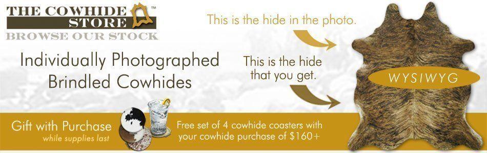 Brindled Cowhides