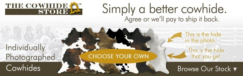 Choose Your Own Cowhide
