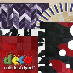 Dyed Patchwork Rugs