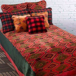Modern Rustic Bedding By Sunland Home Decor