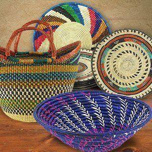 Woven Art Baskets