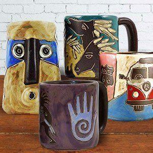 Mara Stoneware Mugs