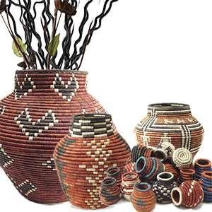 Basket Vases