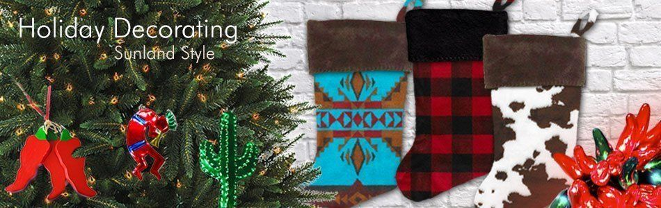 Southwestern Lodge Christmas and Holiday Decorations