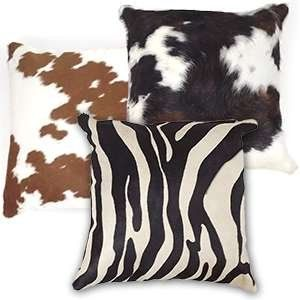 Hair-on Hide Pillows