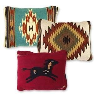 Wool Rug Pillows