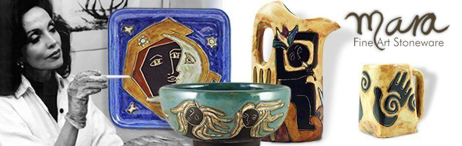 The Mara Stoneware Collection at Sunland Home Decor