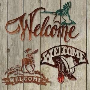 Lazart Welcome Signs
