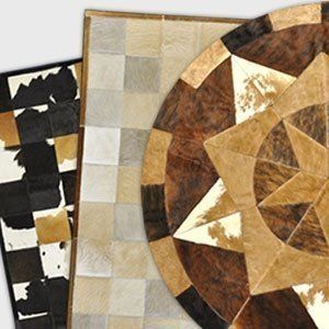 Sale - Cowhide Patch Rugs