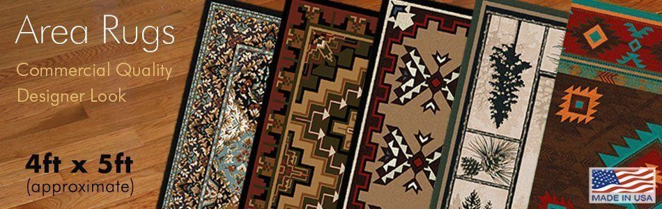 4ft x 5ft Area Rugs