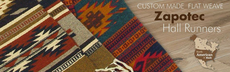 Zapotec Wool Hallway Runners In Custom Sizes