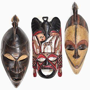 African Wooden Masks