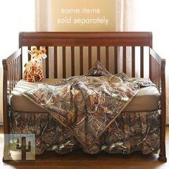 144880 - Realtree AP Camo 3-Piece Baby Crib Set