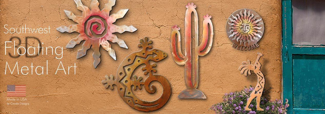Artisan Crafted Southwestern Metal Art