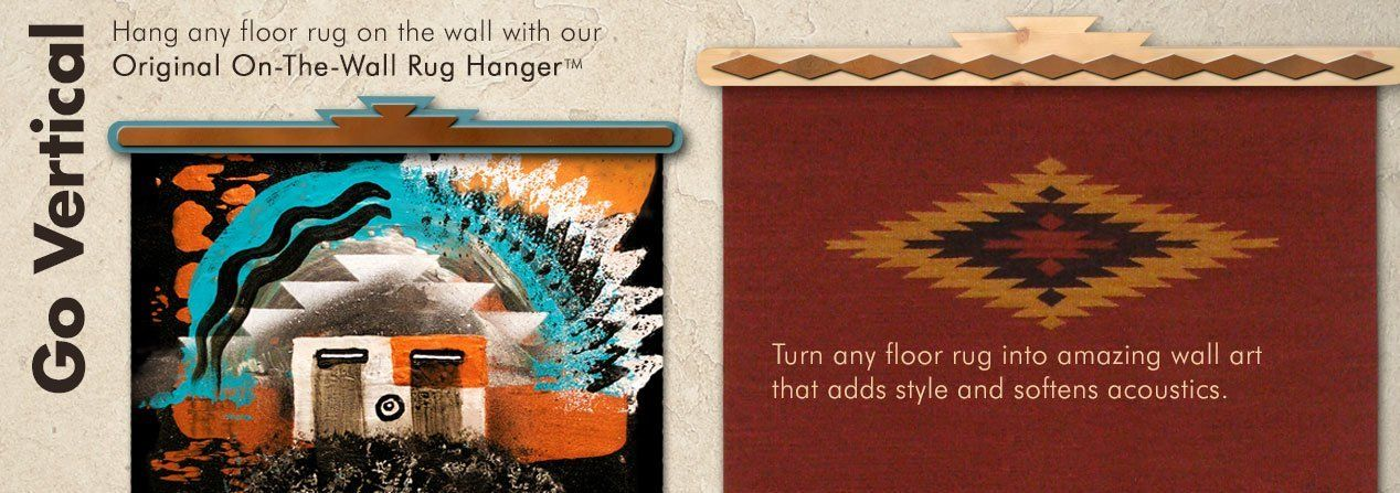 Original On-The-Wall Rug Hangers - Made in USA