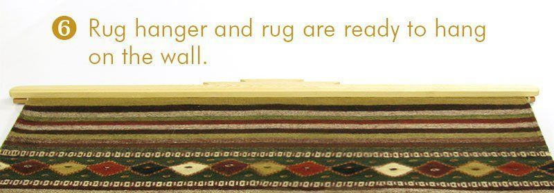 Mount your rug - Step 6